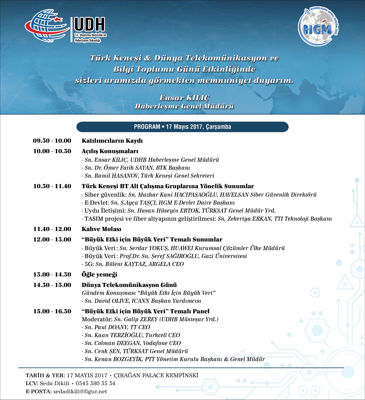 Türk Keneşi & Dünya Telekomünikasyon ve Bilgi Toplumu Günü Etkinliği