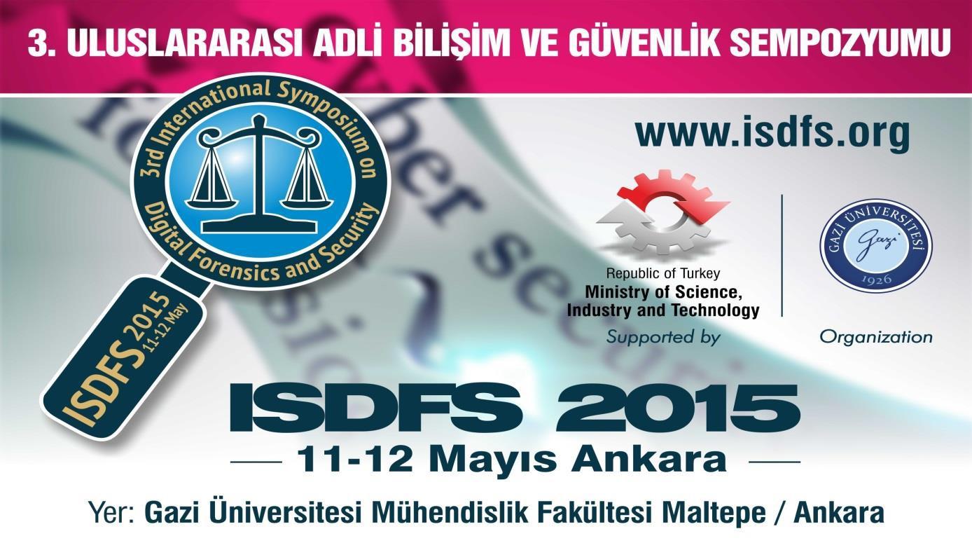ISDFS 2015 Sonuç Bildirgesi
