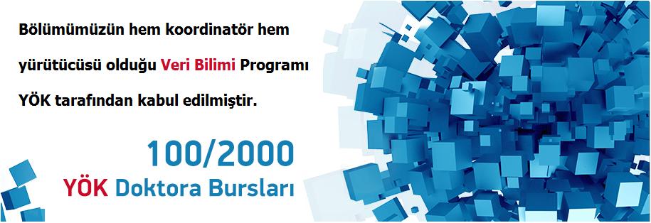 YÖK 100/2000 Projesi- Veri Bilimi Doktora Burs Programı Hakkında